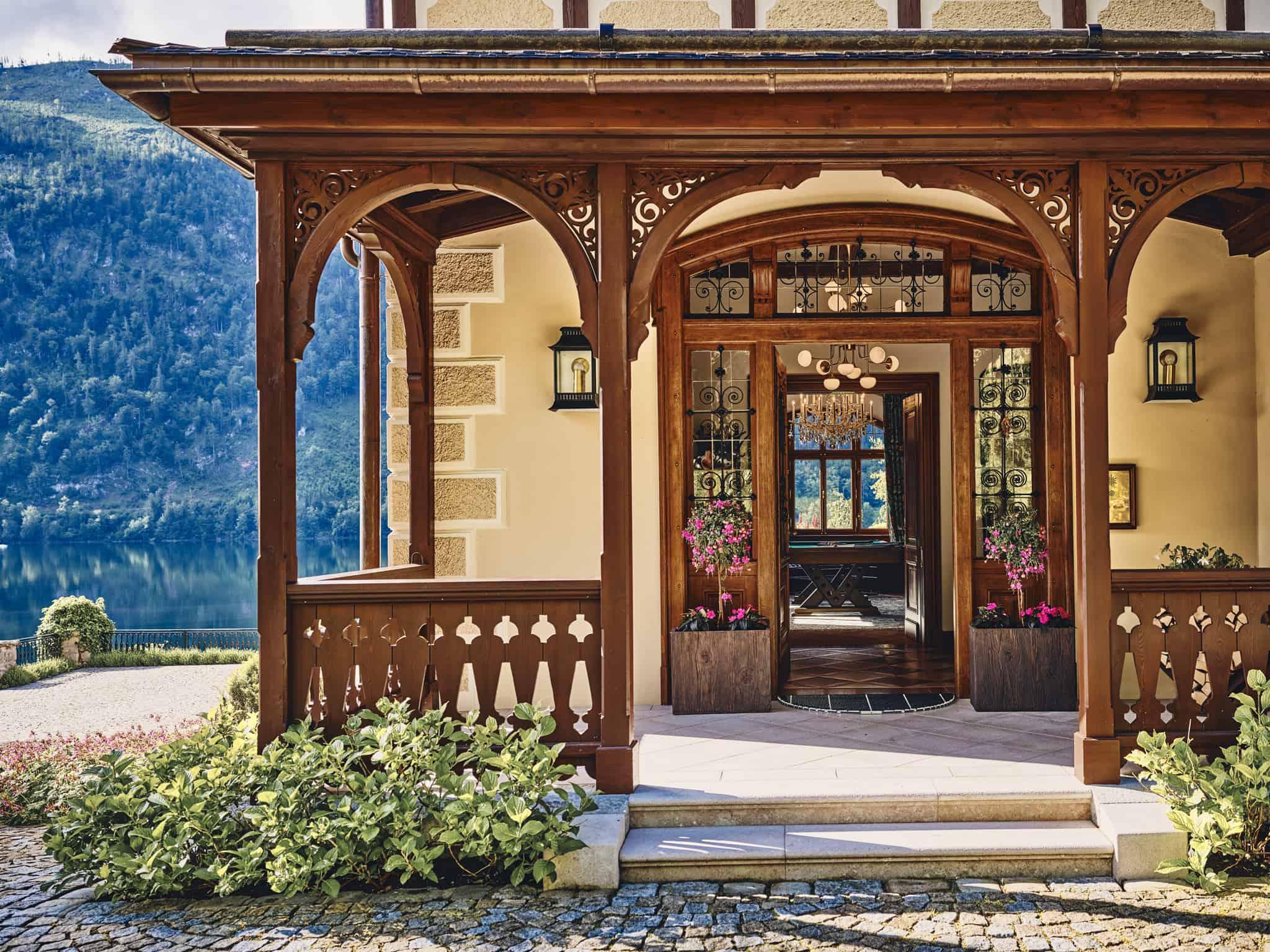 Die Villa Anna am Grundlsee wurde als Private Hotel von Dietrich Mateschitz eröffnet.